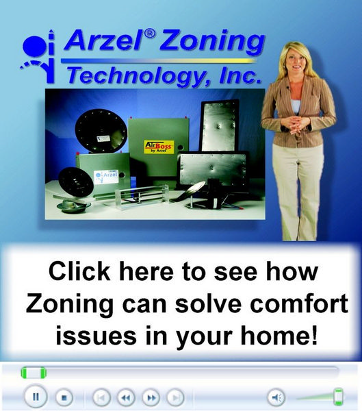 With Zone Dampers Shamy helps solve the too hot or too cold basement or upstairs with zoning by Toledo, OH.